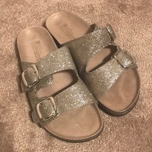 Glitter Berk Style Sandals